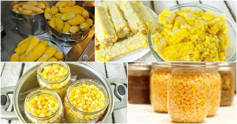как консервировать кукурузу в домашних условиях на зиму
