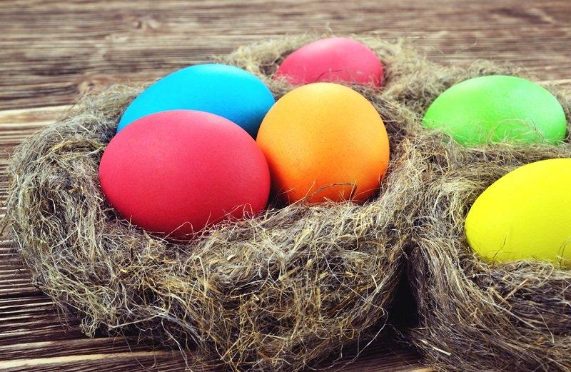 Как покрасить яйца рисом Вдохновение,Советы,Крашанки,Праздники,Продукты,Яйца