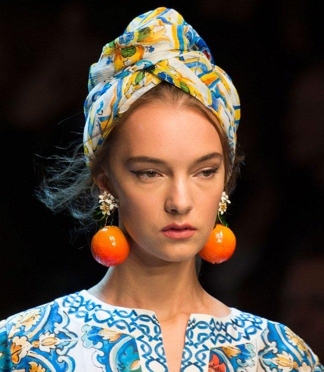 платок по-африкански