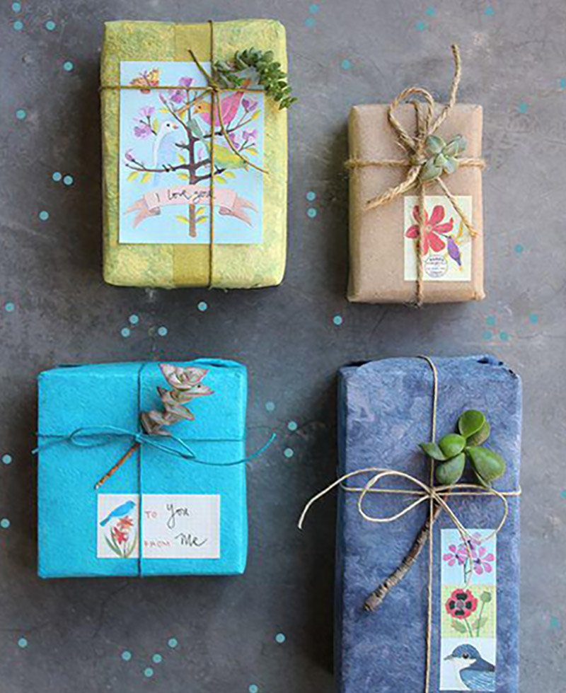 Как красиво оформлять подарки 101
