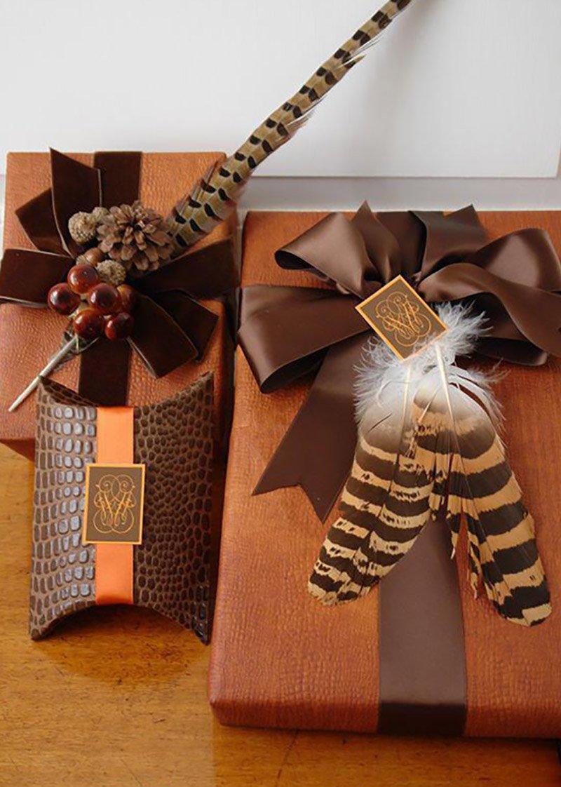 как красиво оформить конфеты в подарок