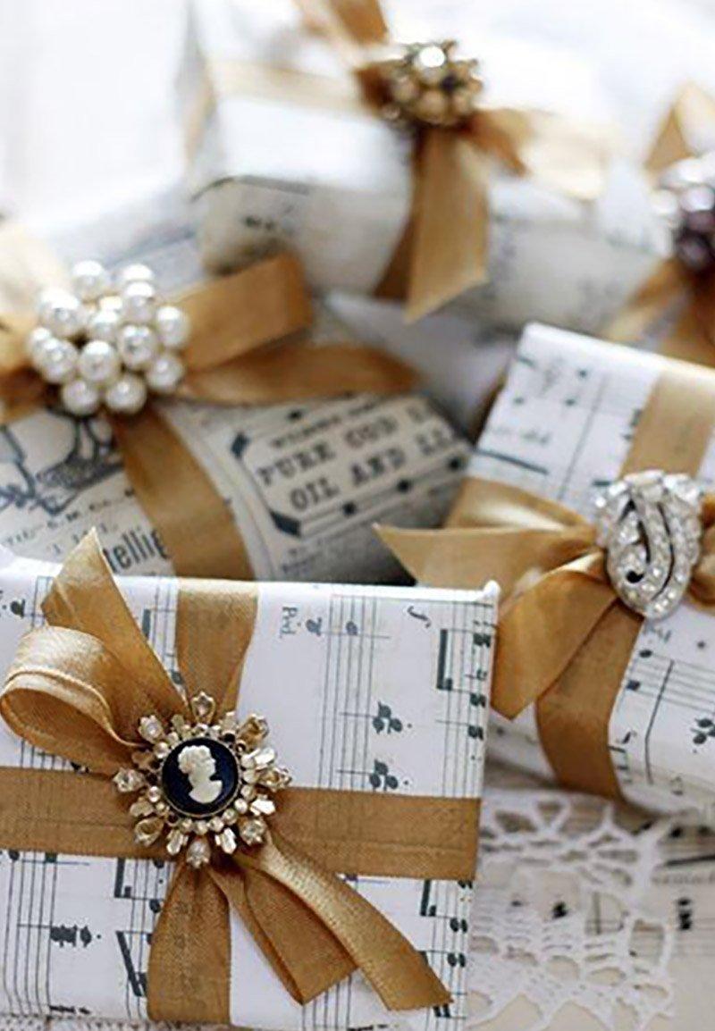 как красиво оформить подарок для мужчины