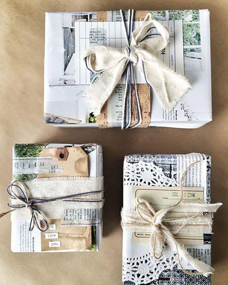 как красиво упаковать подарок без коробки
