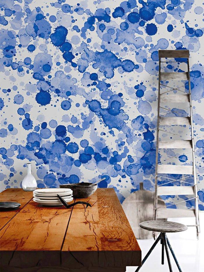 Как красиво покрасить стену своими руками
