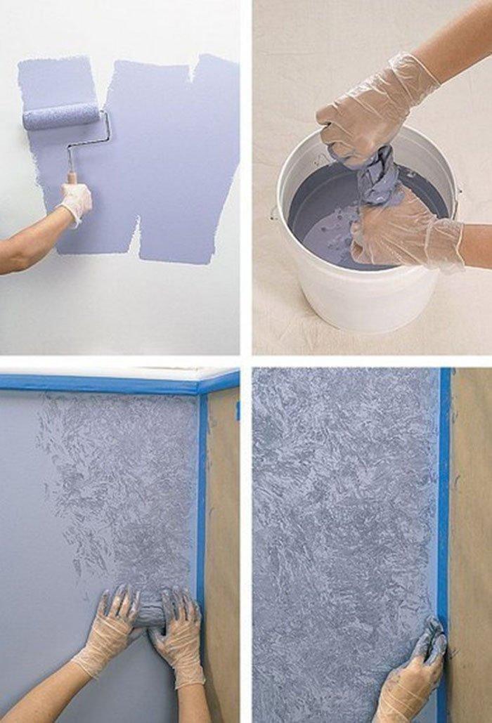 Покрасить стены в квартире своими руками