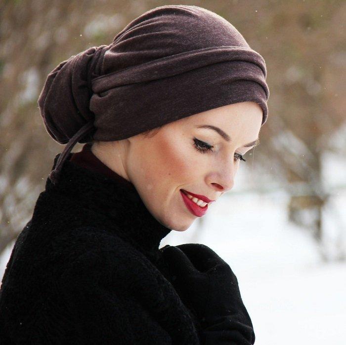 Как красиво повязать платок на голову (с фото и видео)