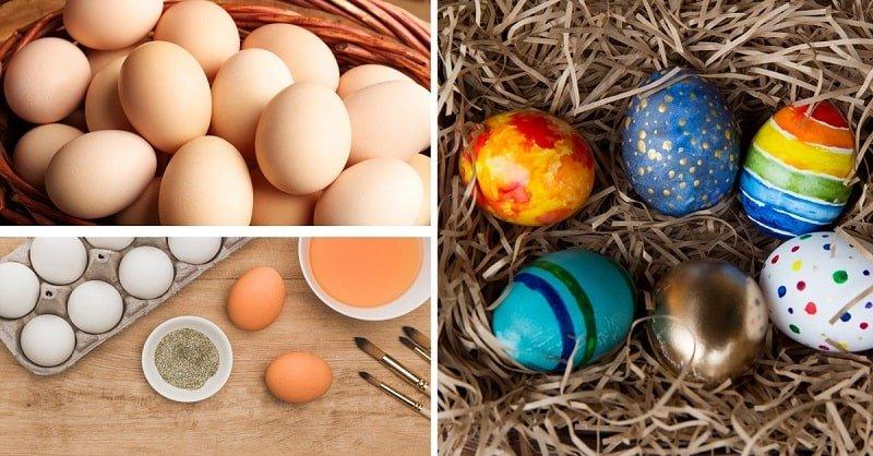 Как красиво украсить яйца на Пасху в домашних условиях