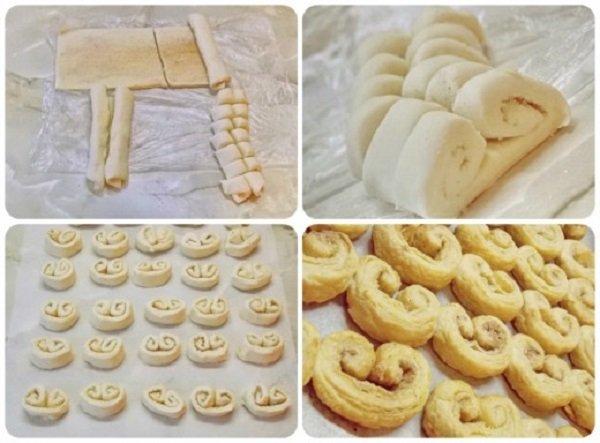 печенье ушки в домашних условиях