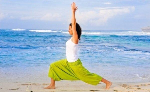йога для похудения упражнения