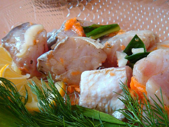 Маринованная рыба толстолобик рецепт пошагово