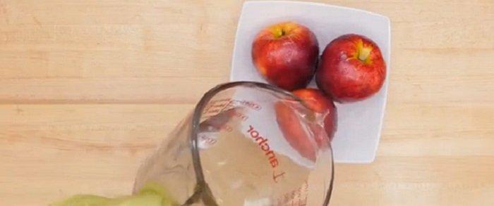 как правильно мыть яблоки