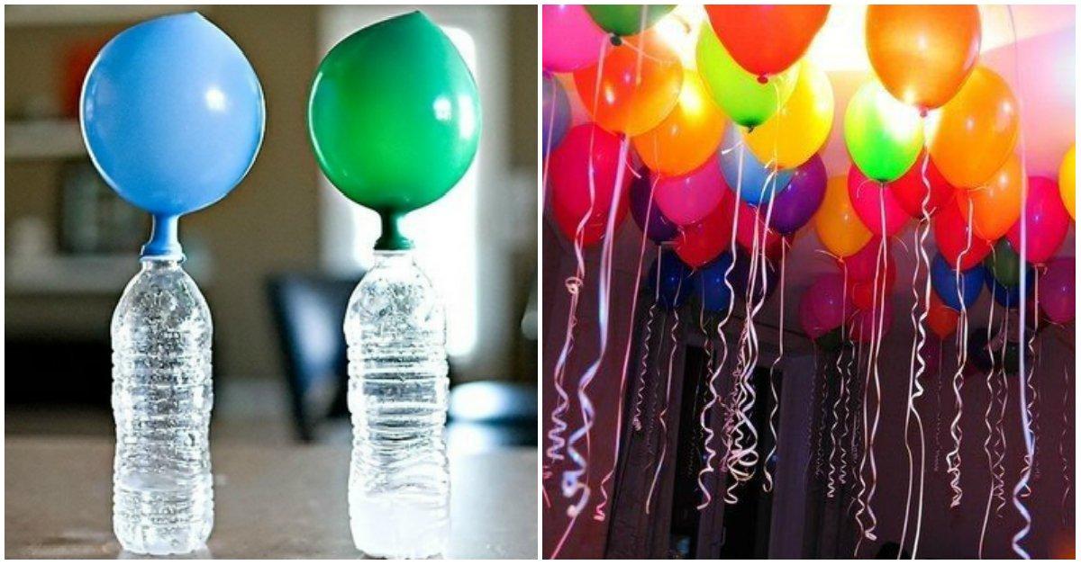 Как сделать из воздушный шар чтобы он летал