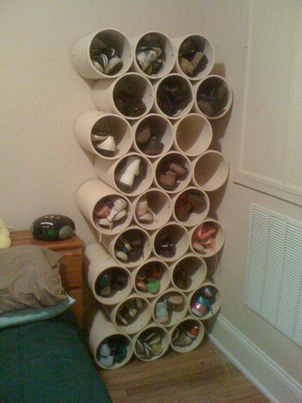 круглые полочки для обуви
