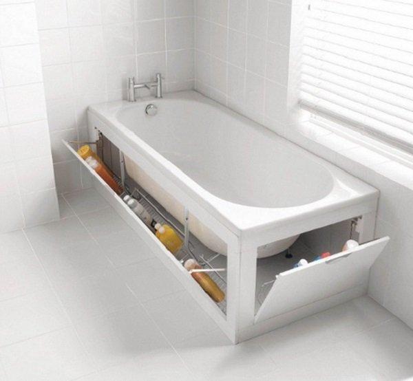 тайник возле ванной