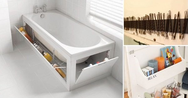 17 уловок, которые наведут порядок в твоей ванной. От некоторых я просто в восторге!