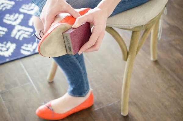 если обувь скользит