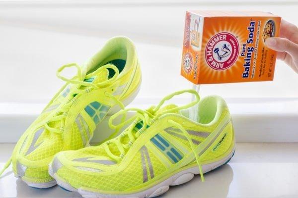 как избавиться от запаха обуви в домашних условиях