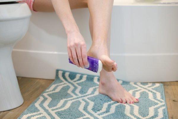 как избавиться от пота ног