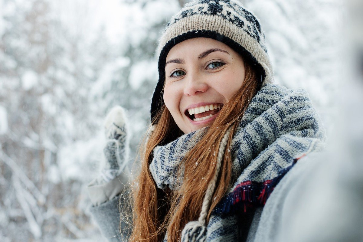 Какие шарфы носить зимой