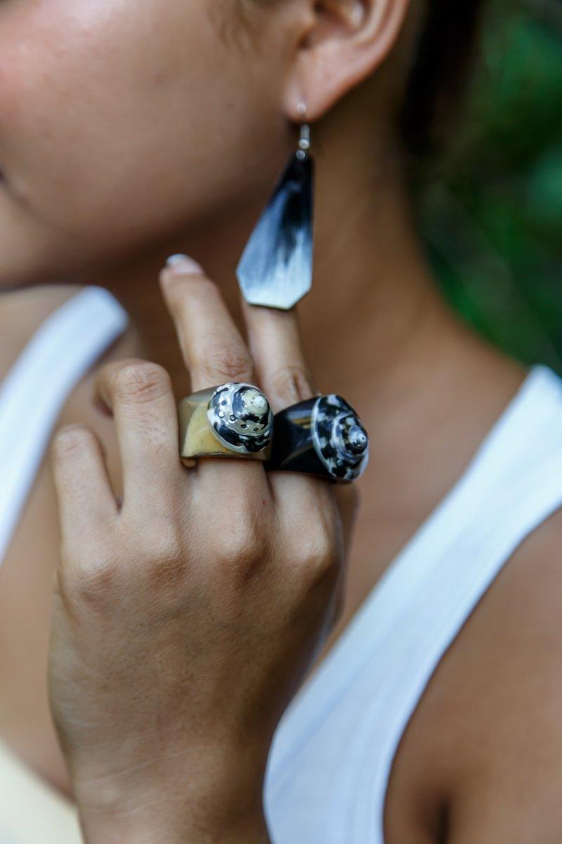 как красиво носить кольца