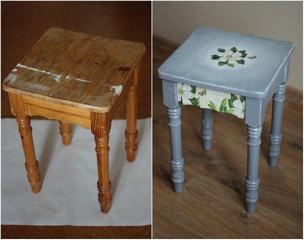 - Reciclar muebles de madera ...