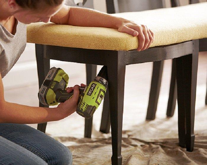 отреставрировать деревянный стул