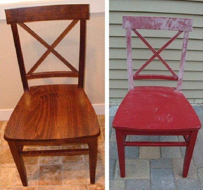 реставрировать старый стул своими руками