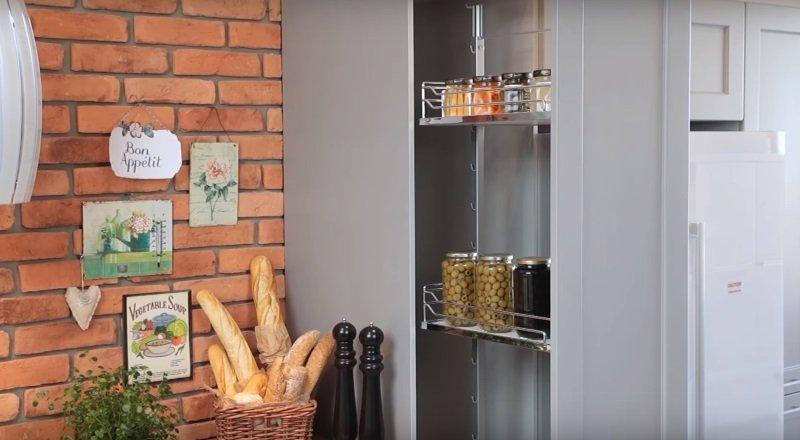 маленькая кухня как обустроить
