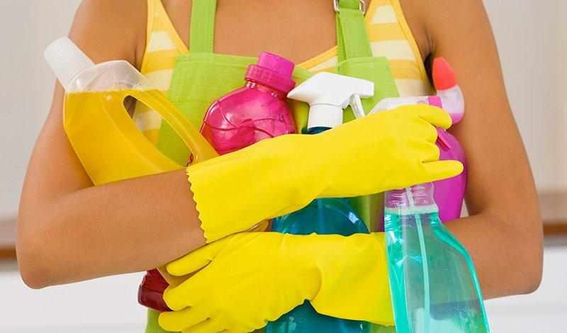 как очистить плитку от клея
