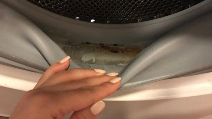 как очистить стиральную машину уксусом