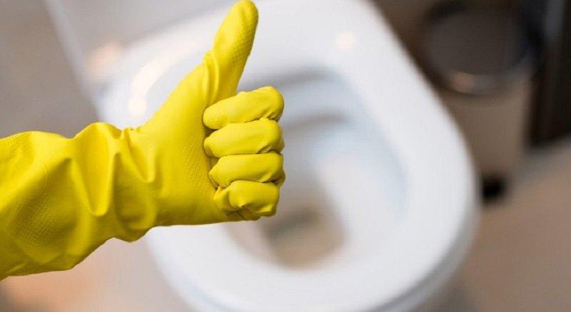 правила уборки ванной комнаты