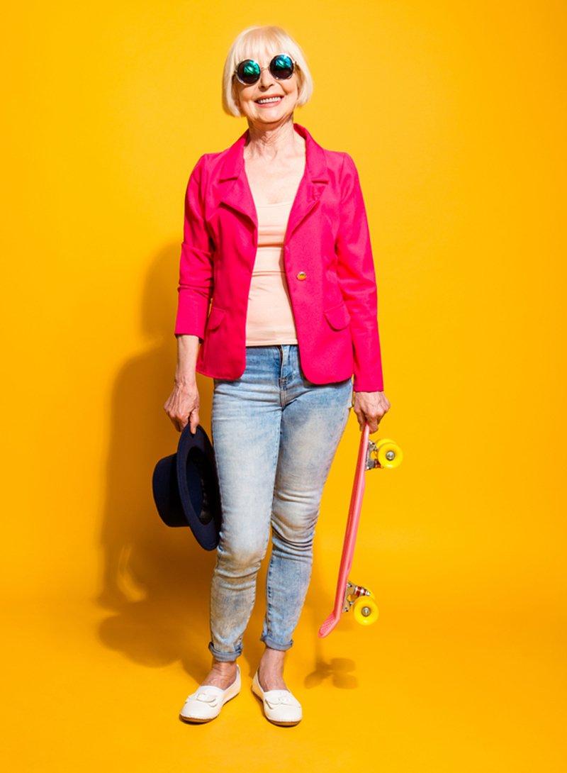 как одеваться в 50 лет