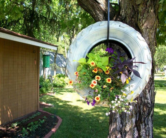 как красиво оформить клумбу в саду