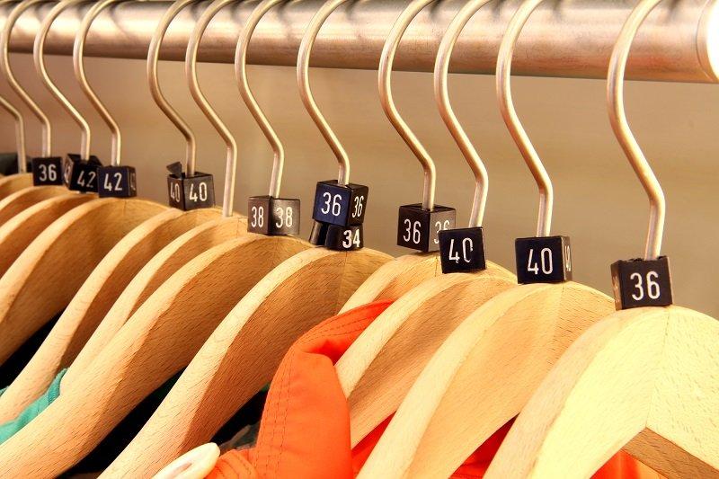 как определить размер одежды англия