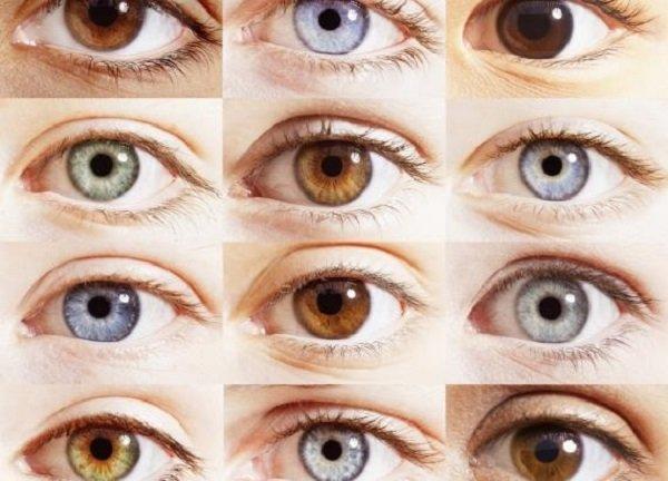 Цвет глаз ребенка по цвету глаз родителей таблица
