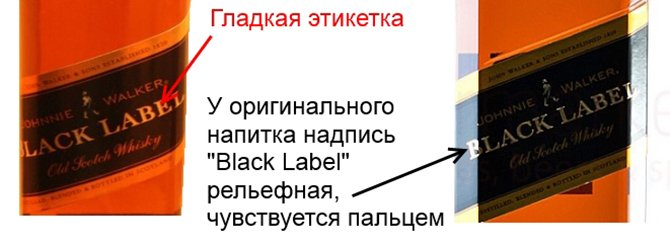 виски Johnnie Walker Black Label, Red Label