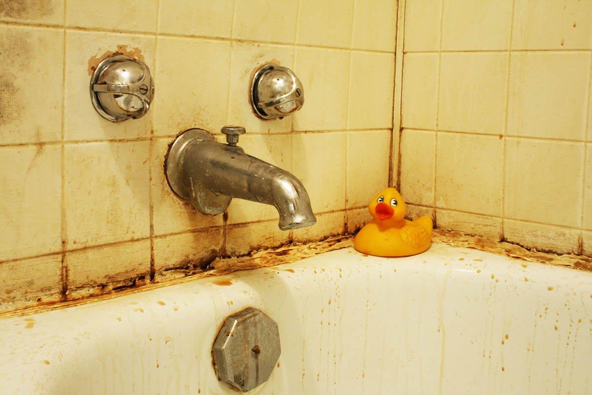 Народные методы отмывания ванн, чтобы сделать конфетку из неухоженной бедняжки