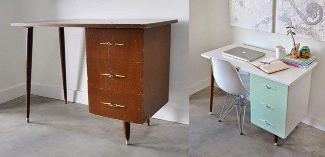 как переделать старую мебель