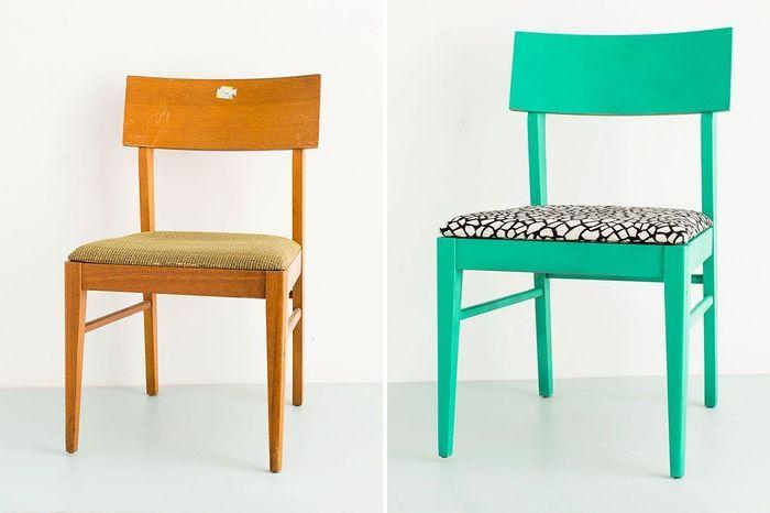 как сделать новый стул