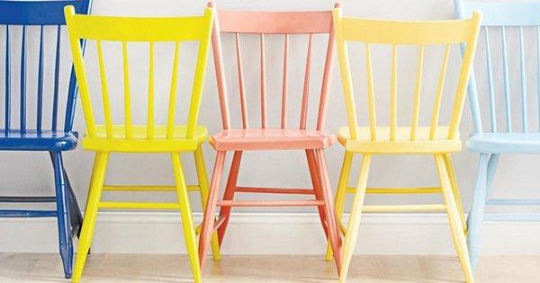 Подари новую жизнь старым стульям! 14 потрясающих идей для переделки.
