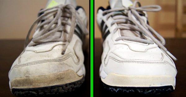 Теперь не боюсь покупать белую обувь! Знаю, как отмыть кроссовки и кеды в два счета…