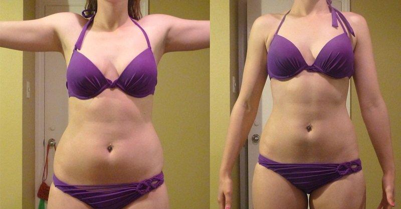 фото женщин до и после диеты
