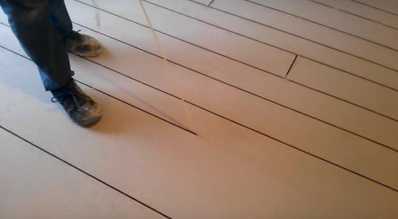 как покрасить бетонный пол фото