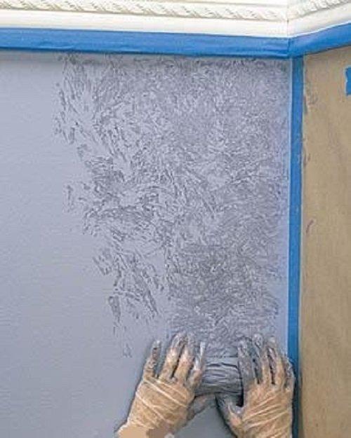 Реставрация стен своими руками фото