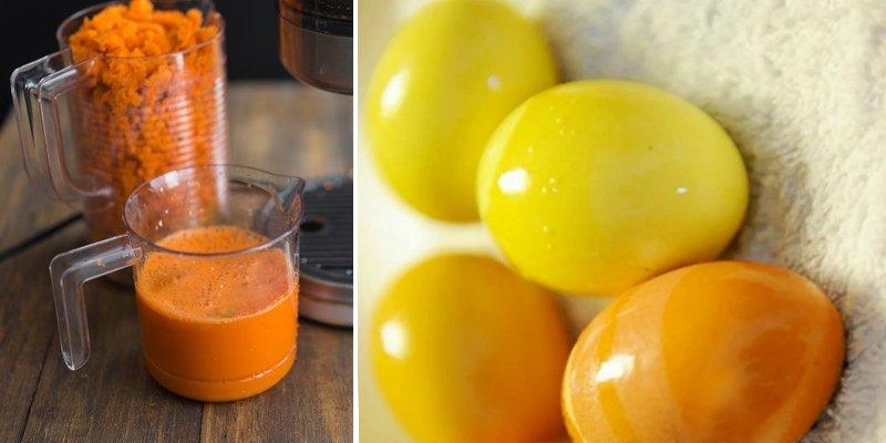 как красить яйца на пасху своими руками