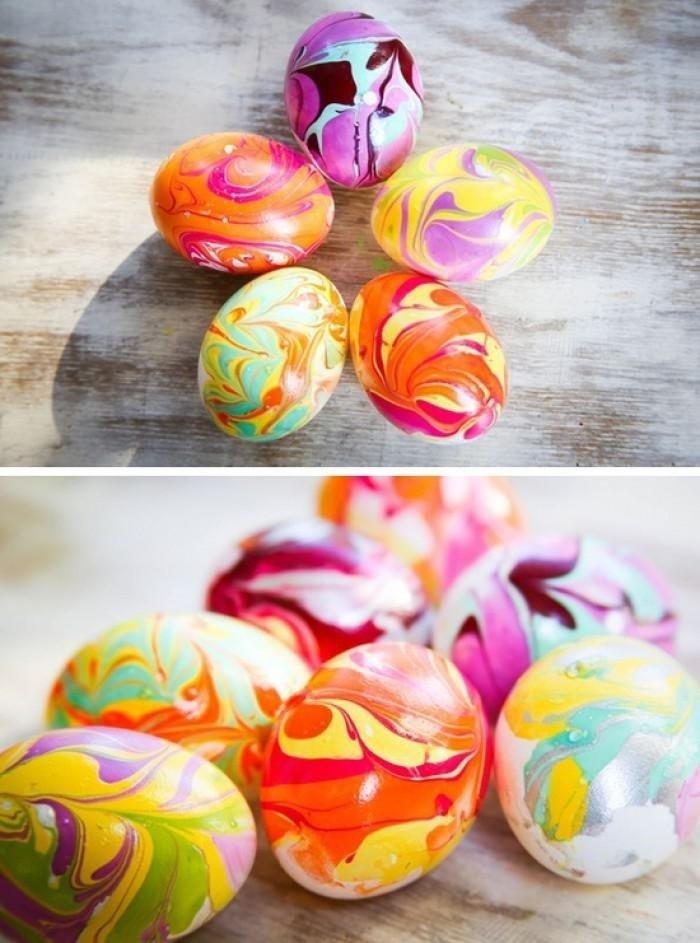 как покрасить яйца морковью