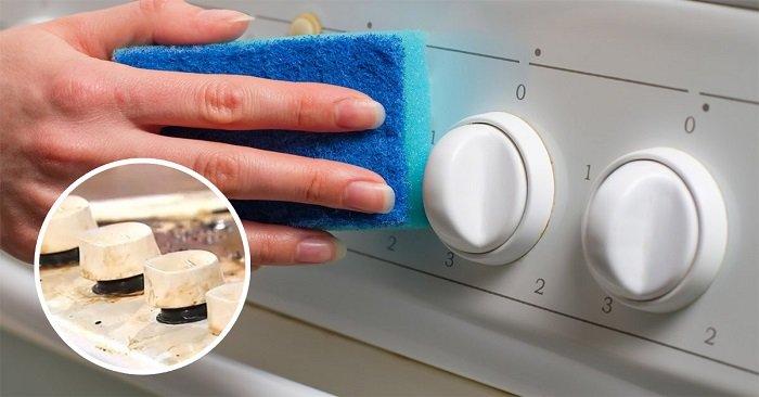 как очистить плиту от пригоревшего жира
