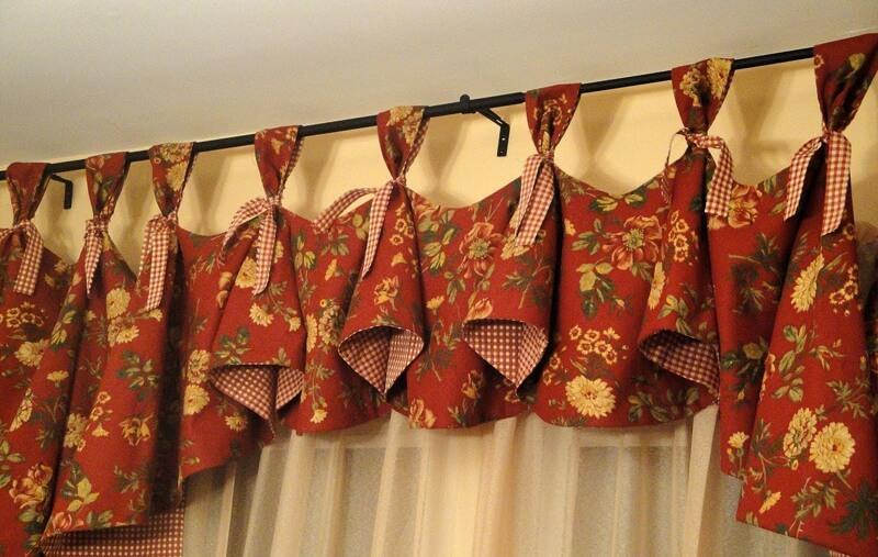 пошив штор выкройки