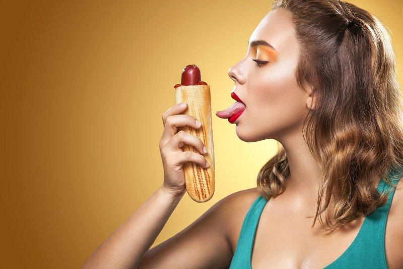 Необычные девушки в рот