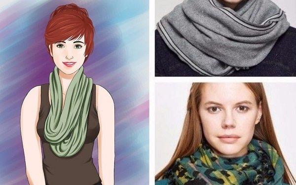 как завязать шарф как у арабов